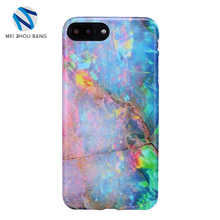 Ink painting marble cell phone case for iphone 8 plus 7 plus