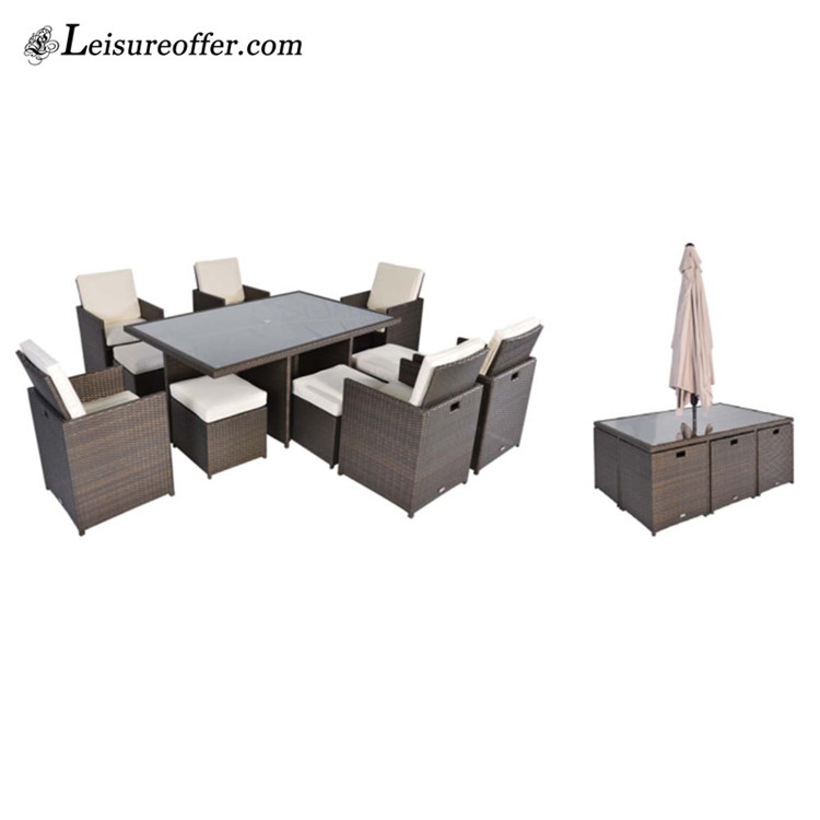 Rattan Garden Furniture Outdoor Restaurant Tables