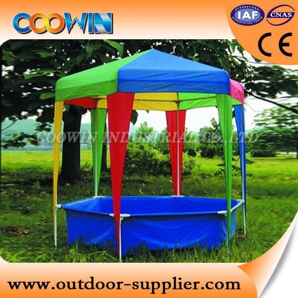 children kids gazebo with swimming pool,outdoor gazebo tent,canvas gazebo