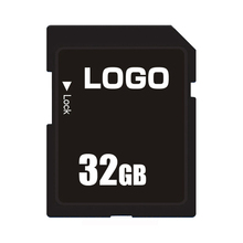 High Speed Custom Lable SD Card 8GB 32GB Memory Card