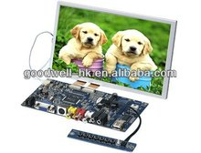 "16:9 AV VGA Input LCD 7""Module for Industrial Application"