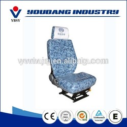 Hot selling machine high quality pvc/fabric used grammer truck driver seats for sale medical use