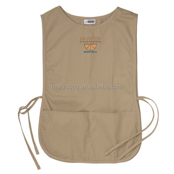 Functional apron smocks guard clothing from stains and damage
