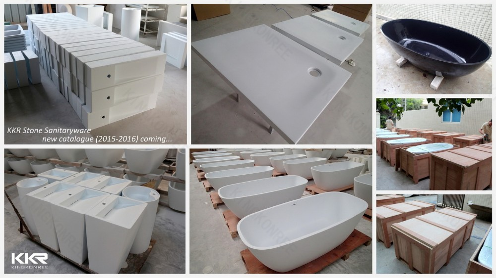 custom made 52 inch freestanding whirlpool bathtub