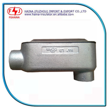 UL listed malleable iron Rigid conduit body