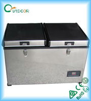 90L 12V/24V PORTABLE FRIDGE FREEZER CAR ELECTRONIC ACCESSORIES
