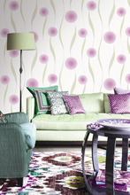 Top quality romantic rose flower rope wall paper wallpaper