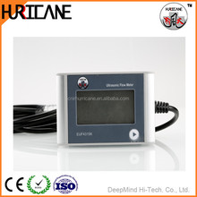 Digital Ultrasonic Liquid Water Flow Meter Load Current 1A Applied PVC Pipe