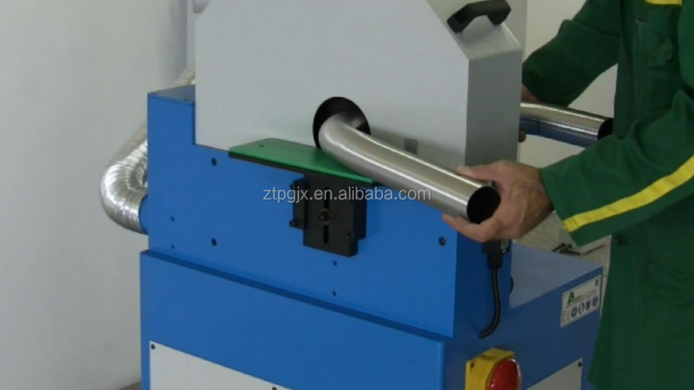 Curve tubes polishing machine for stainless steel