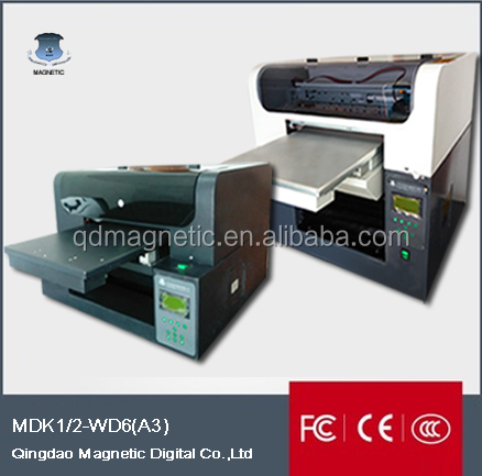 MDK Magnetic OEM A2 A3 A4 model t shirt digital garment printing machine