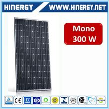 Quality-assured factory price 300w mono solar panel with good quality with 25 years warranty and best service
