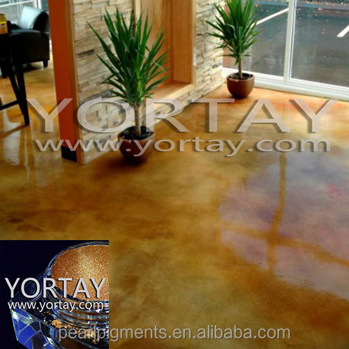 Metallic Luster Pearl Pigment for epoxy floor coating