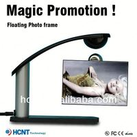 Magical!!Magnetic floating levitating photo frame ,funny face photo frame