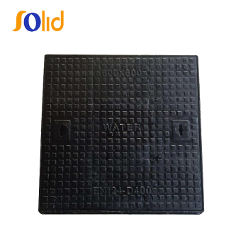 D400 Ductile Iron Square Single Seal Manhole Cover