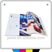 2013 full color offset printing fashionable design fashionable products catalogues printing in China