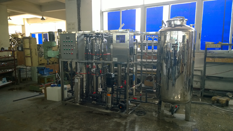 RO DI water 700lph water treatment cost