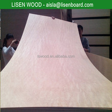 3-ply poplar / hardwood okoume plywood 3mm 4mm
