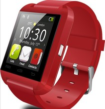 3 colors New Sport U8 U80 Bluetooth Smart Wrist Watch Phone Mate For Android IOS Iphone LG BB68