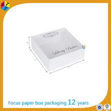 white cardboard wholesale gourmet window boxes