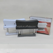 Professional Commercial Quality Kitchen 48-blade Meat Tenderizer, sharp Stainless Steel Blades For Steak, Chicken,