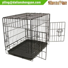 Metal Dog Cat Pet Crate with Divider