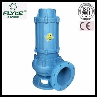 high power iron impeller electric water submersible sewage pump for industry ,agricultural