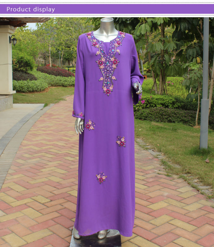 2014 arab clothing names with beads islamic women clothing