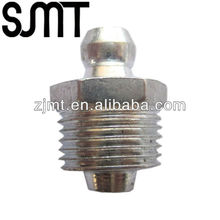 Male thread 12mm hydraulic grease fitting nipple sizes straight type lubricants