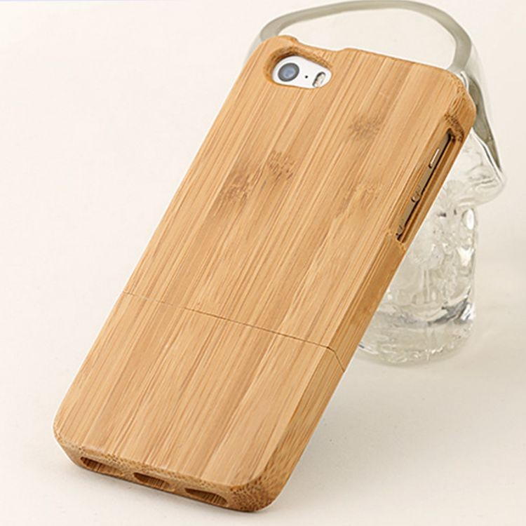 bamboo mobile/cell phone case/cover/skin for i phone 5/5S/5SE