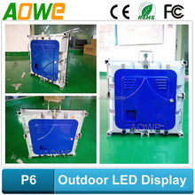 P6 P8 P10 Outdoor SMD or DIP for rental use and fixed installation led display