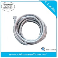 stainless flexible metal conduit shower hose 304/316/321