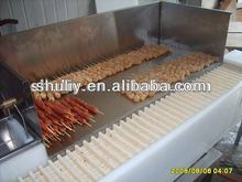 Automatic Meat string machine /Kebabs making machine0086-15838061730