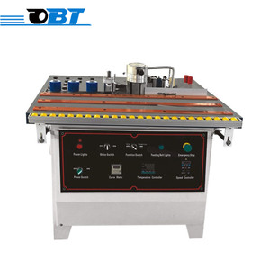 China best quality small straight curved wood edge banding machine for sale