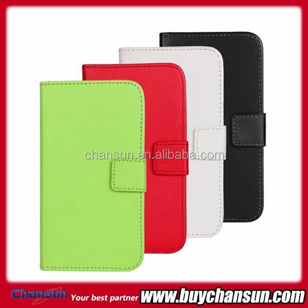 hot selling wallet leather case for samsung galaxy s4 active i9295