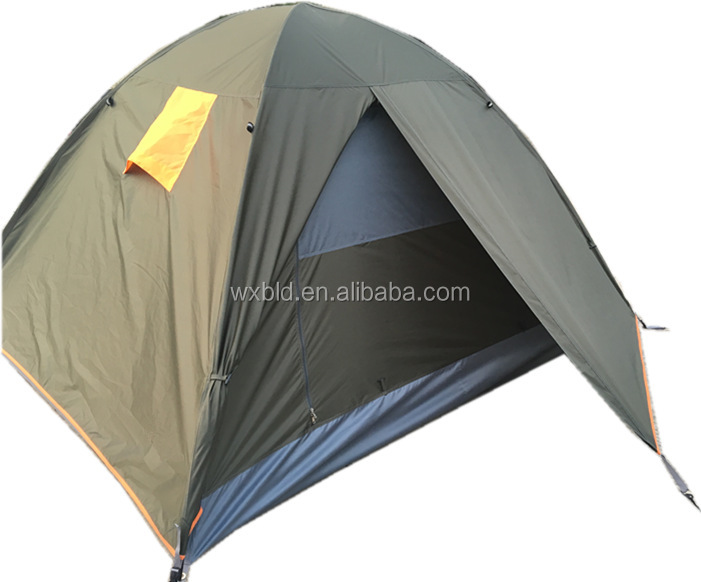 top storm protection camping tent and easy open tent 4 man camping tent