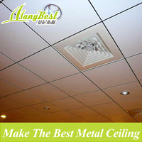 Low-cost metal ceiling designs for office