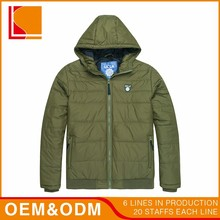 Custom Heavy Hooded Winter Casual Man Jacket Coat For Man