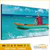 Extravagant and durable fabric screen frameless poster frame picture wall hanging