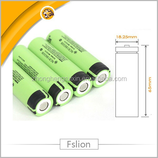 for panasonic 3400mah 18650 panasonic li-ion battery japan ncr18650b falt cell lithium ion cells