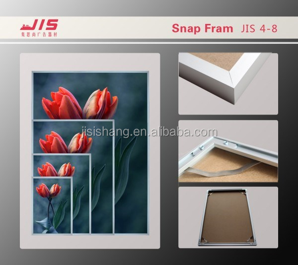 Portable Display ,trae show ,exhibition ,advertising usage, aluminium profile wood effect snap frame