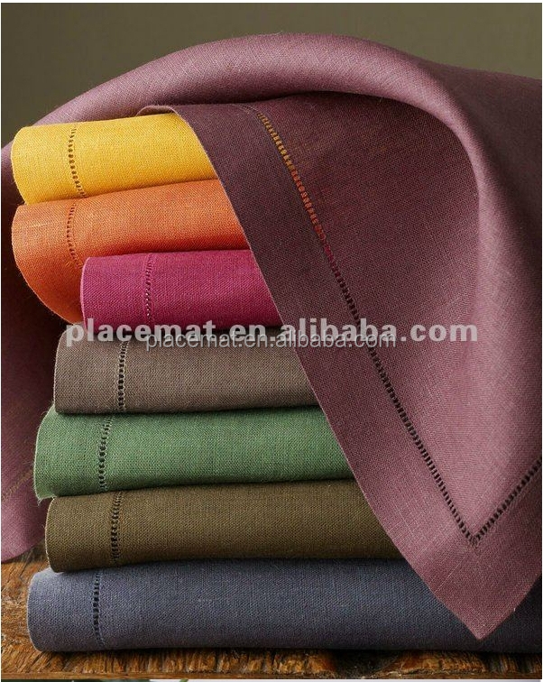 Fashion Factory Wholesale Linen Cotton Dinner Table napkin