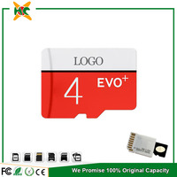 Low capacity sd cards for Samsung Evo 4gb mobile memory card price