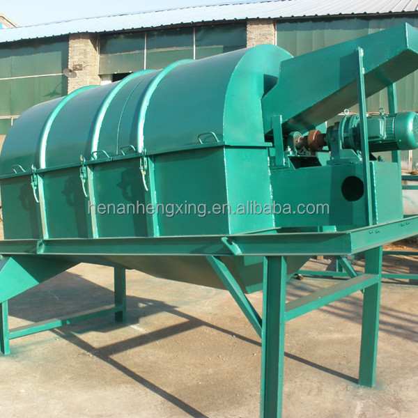 Solid Waste Trommel Screen With High Screening Efficiency