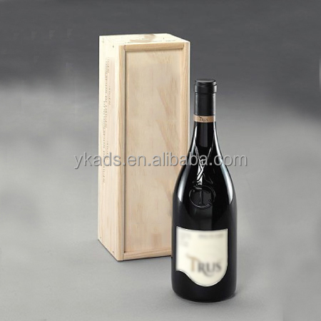 Customized Shape wood wine carrier