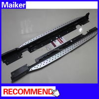 Aluminum running board for BMW X1 E84 car side step bar side step