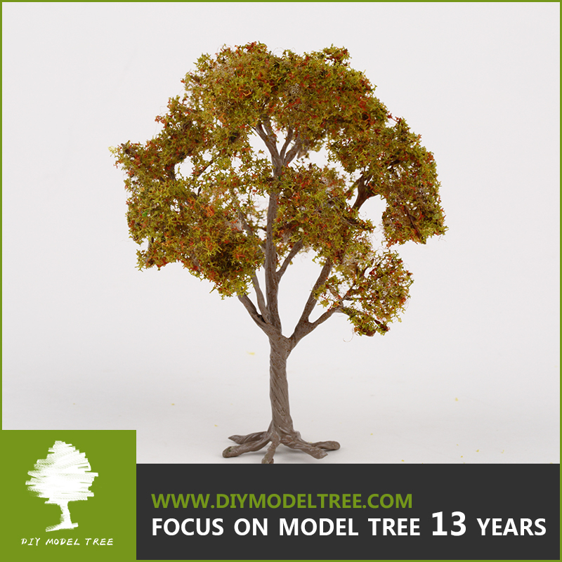 Hand made realistic scale architecture wire tree for model making