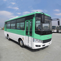 Low price Famous Brand China JAC coach bus mini city bus with high qyality