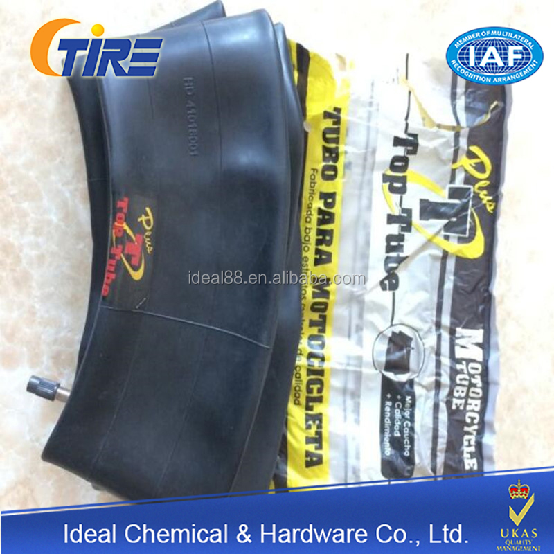 TOP TUBE natural rubber inner tube for motorcycle hot sale in South America market