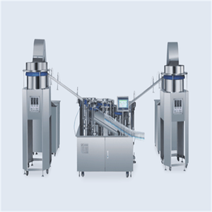 Automatic assembly machine for self-destructive disposable syringe