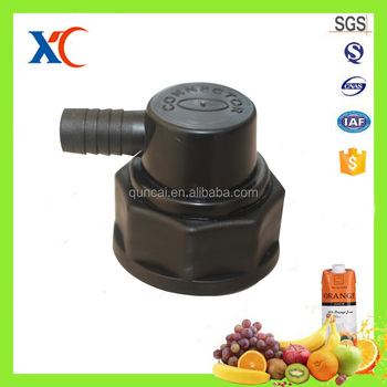 Wholesale direct manufacturer 2017 new style food grade BIB syrup connector for coke